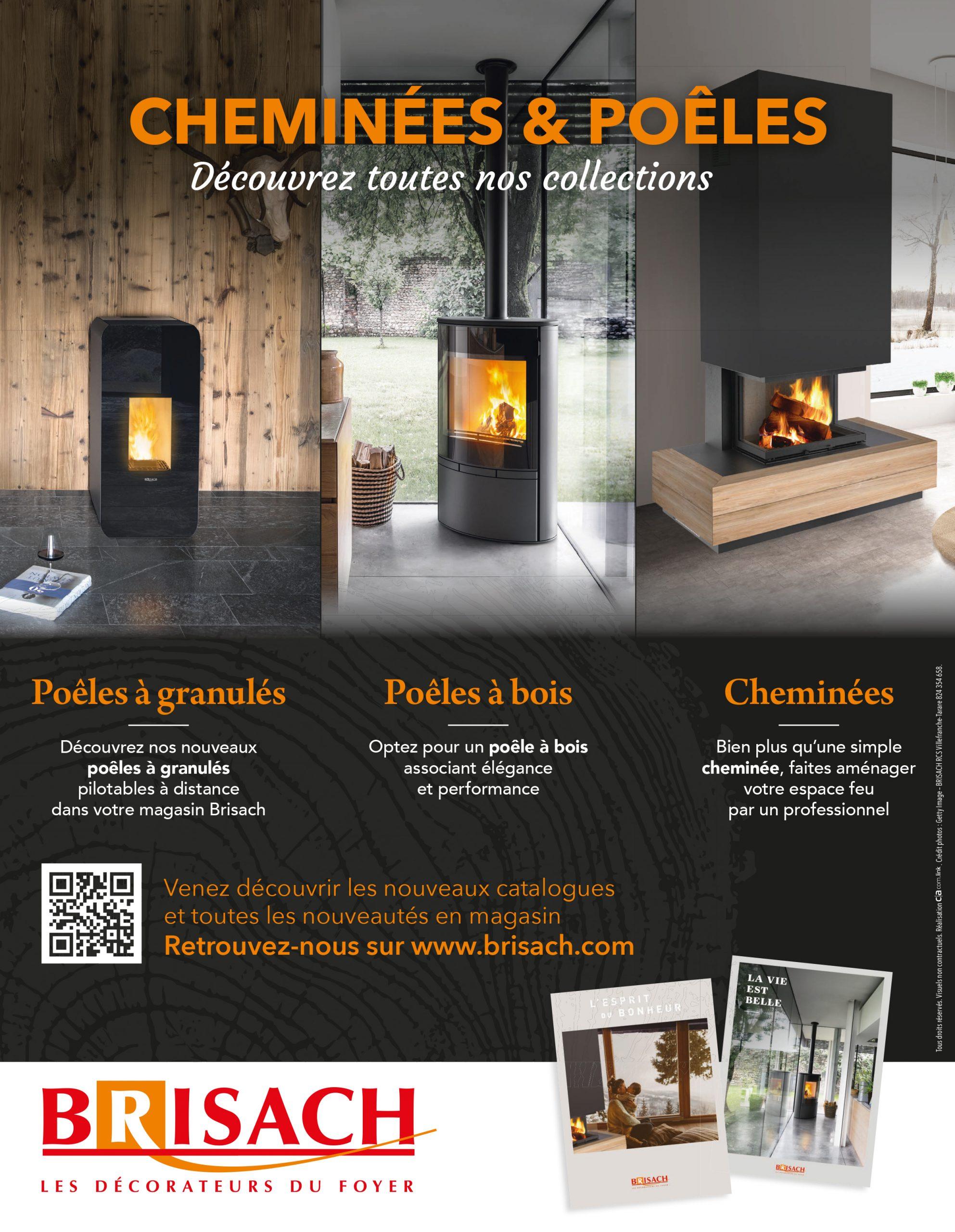 BRISACH : À l'avant-garde du feu de bois
