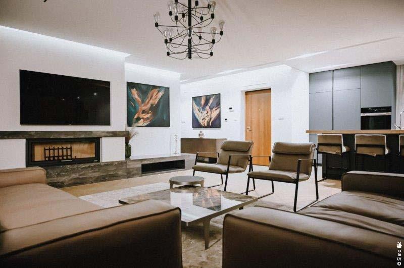 PALAZZETTI Apartment Tokyo, un projet de luxe en Bosnie-Herzégovine